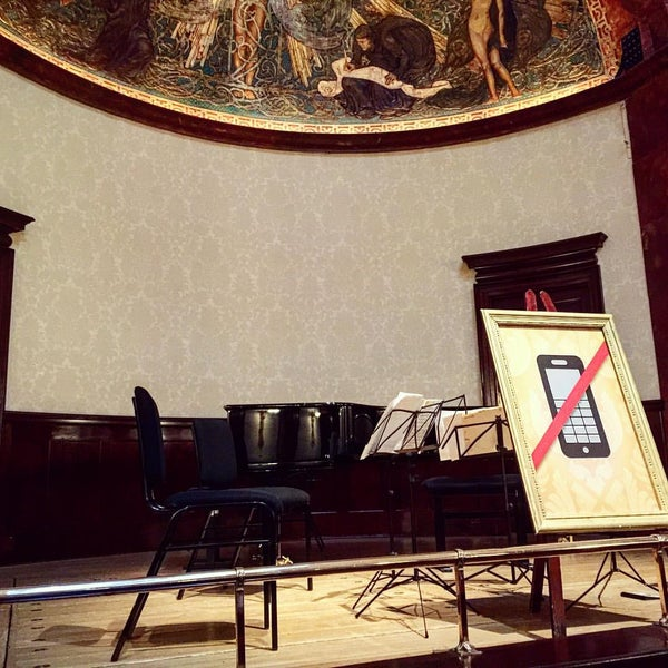 Photo taken at Wigmore Hall by Kaz Y. on 6/20/2016