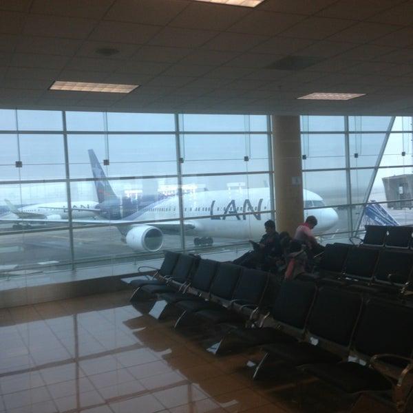 Photo taken at Jorge Chávez International Airport (LIM) by Andrew F. on 7/2/2013