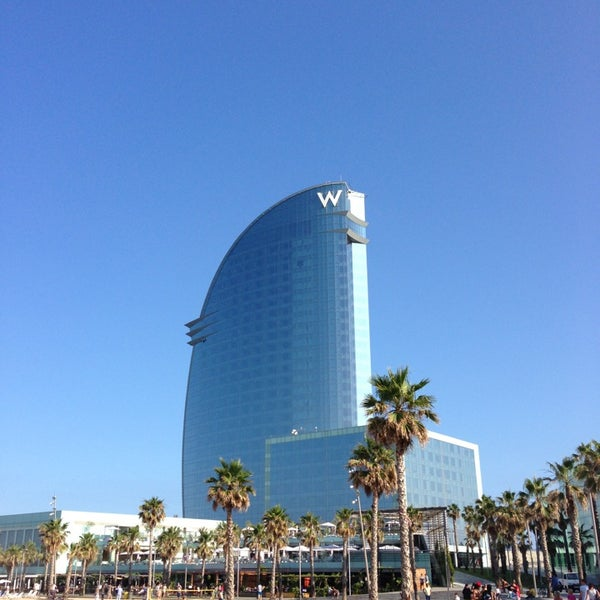 Photo taken at W Barcelona by Simon W. on 7/5/2013