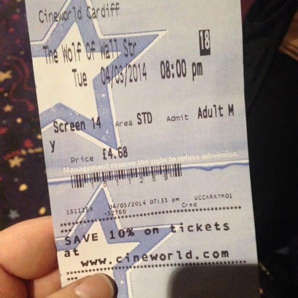 Photo taken at Cineworld by Essi S. on 3/4/2014