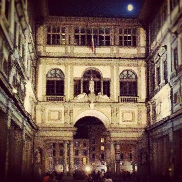 Photo taken at Uffizi Gallery by Francesco C. on 6/29/2012