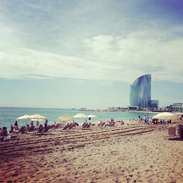 Photo taken at W Barcelona by Mathieu D. on 6/9/2013