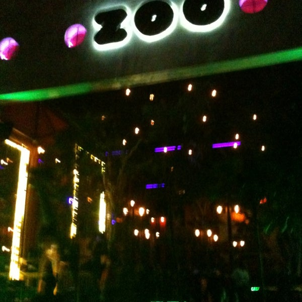 Photo taken at ZOO Bar by Martin R. on 6/3/2013