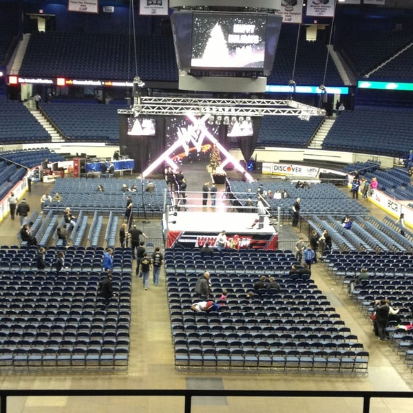 Photo taken at Allstate Arena by George M. on 12/27/2012