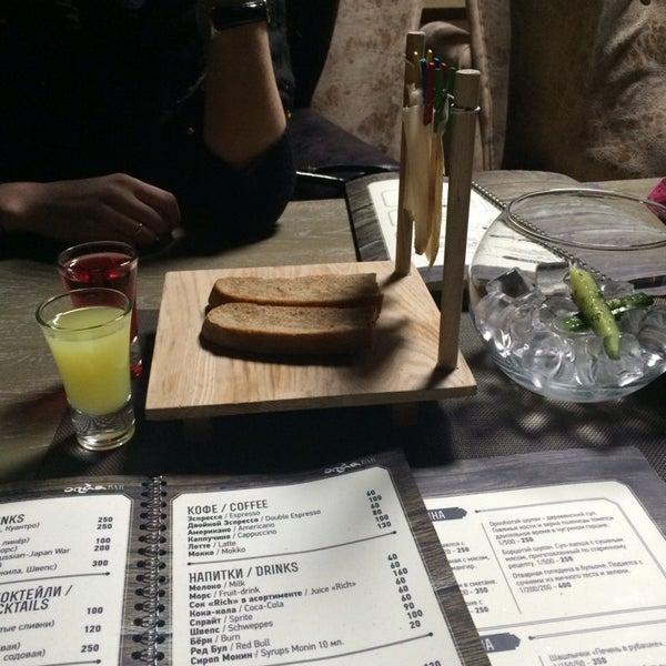 Снимок сделан в ресторан ORDA пользователем Seseg R. 2/1/2014