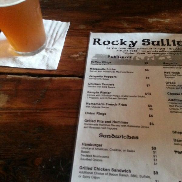 Photo taken at Rocky Sullivan's by Victor H. on 9/5/2013