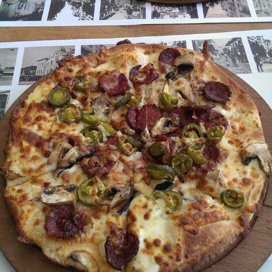 6/14/2013 tarihinde Hüseyin G.ziyaretçi tarafından Pizza Uno'de çekilen fotoğraf