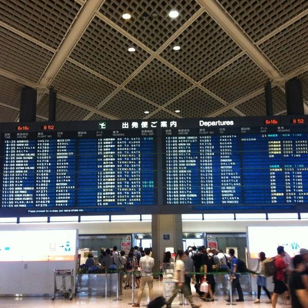 Photo taken at Narita International Airport (NRT) by Jonathan H. on 6/15/2013