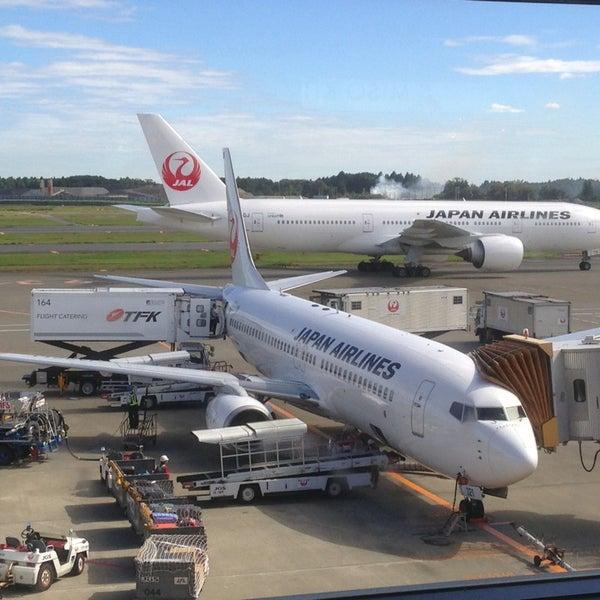 Photo taken at Narita International Airport (NRT) by Kazu M. on 10/10/2013