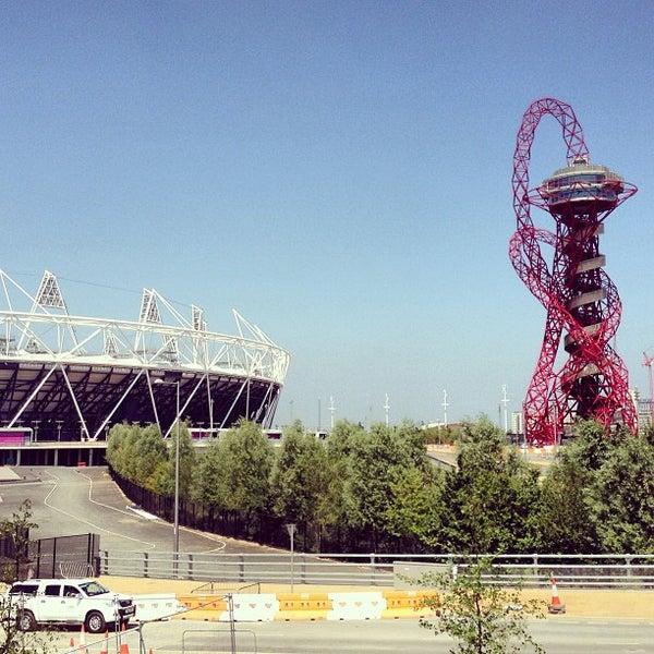 7/10/2013 tarihinde Andrew W.ziyaretçi tarafından Queen Elizabeth Olympic Park'de çekilen fotoğraf