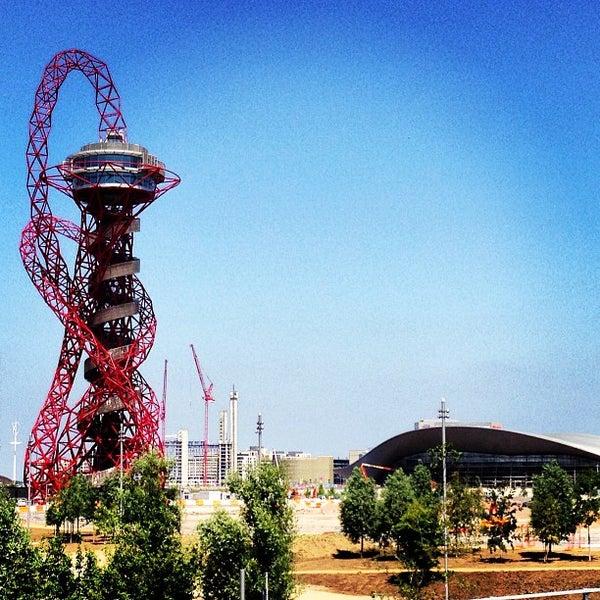 7/8/2013 tarihinde Andrew W.ziyaretçi tarafından Queen Elizabeth Olympic Park'de çekilen fotoğraf