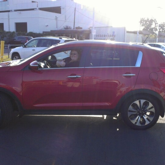 Photo Taken At Car Pros Kia Of Huntington Beach By Christian N. On 2/