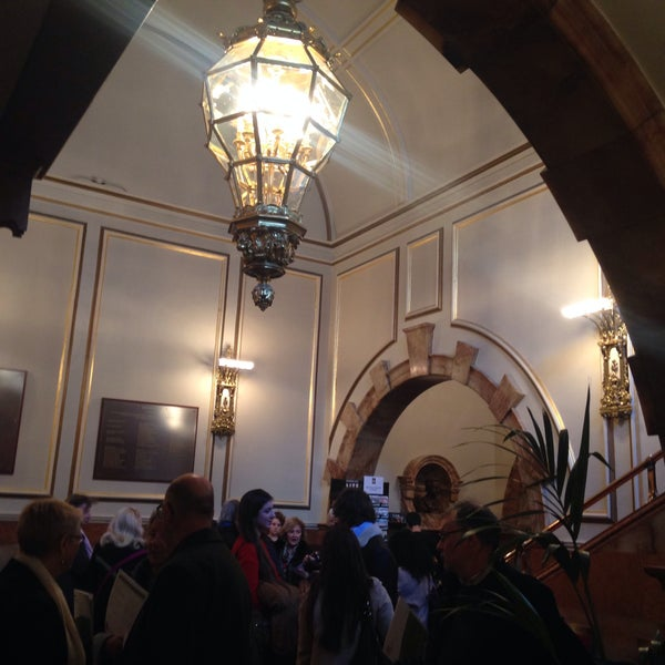 Photo taken at Wigmore Hall by Umit on 3/3/2015