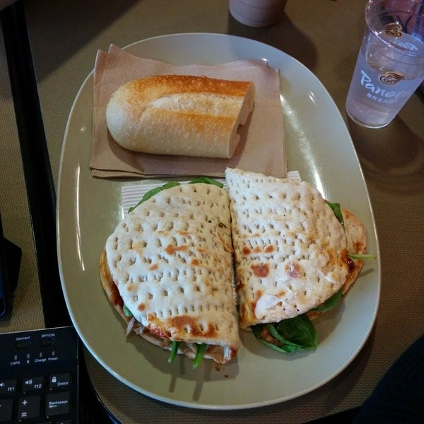 Photo taken at Panera Bread by Sean A. on 8/5/2014