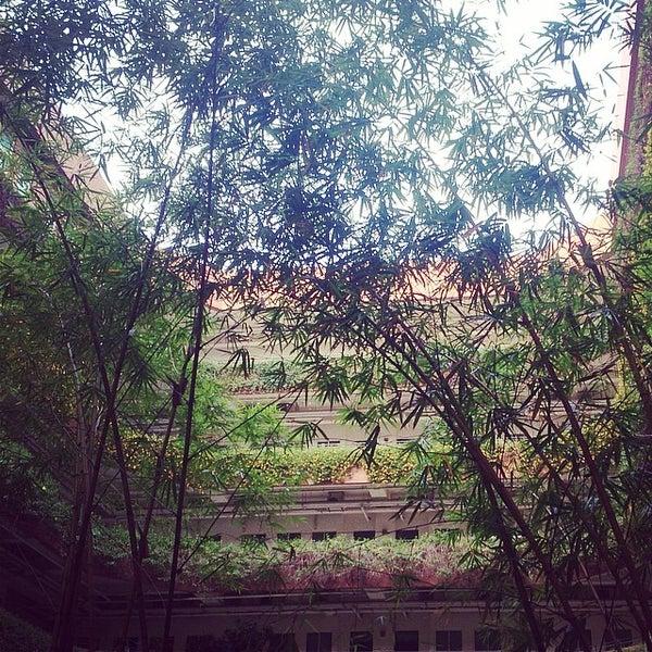 Photo taken at Asia University by Leafish Y. on 4/27/2014