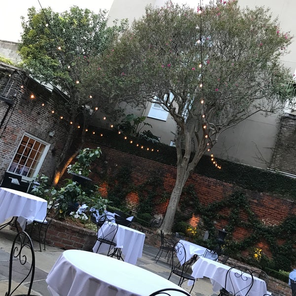 Photo taken at Broussard's Restaurant & Courtyard by Laura V. on 9/16/2017