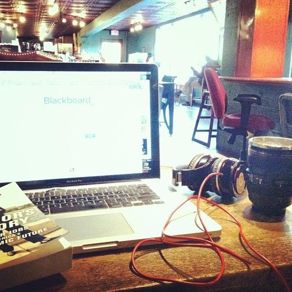Photo taken at Bennu Coffee by Jean N. on 3/24/2013