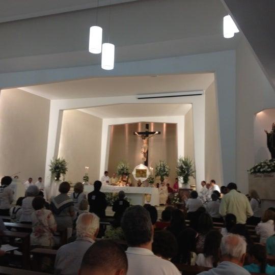 Photo taken at Paróquia Santa Mônica by Victor B. on 12/5/2012