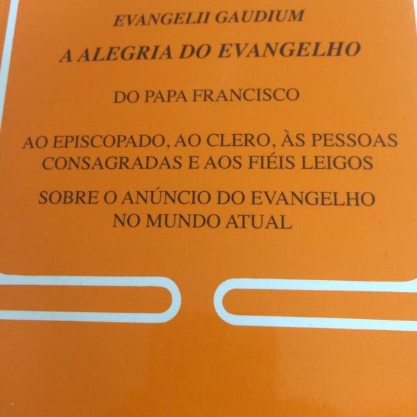 Photo taken at Paróquia Santa Mônica by Victor B. on 4/5/2014