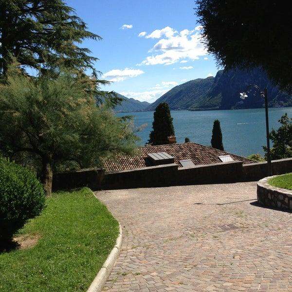 Photo taken at Lago di Lugano by Riethmann C. on 6/24/2013