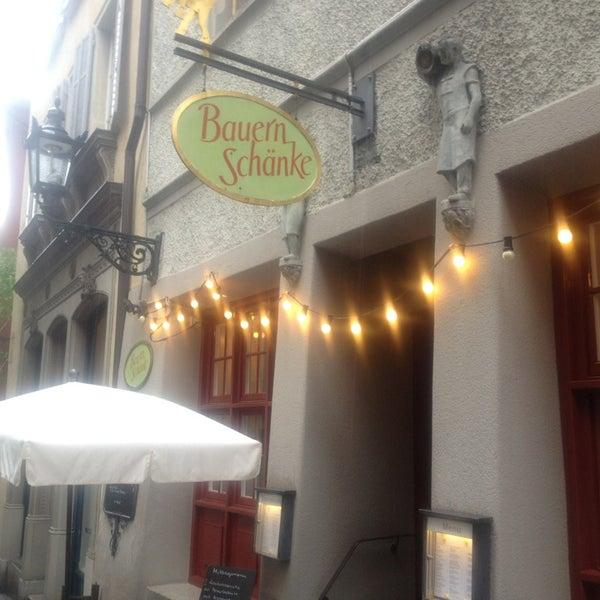 Bauernschänke - Swiss Restaurant in Zürich