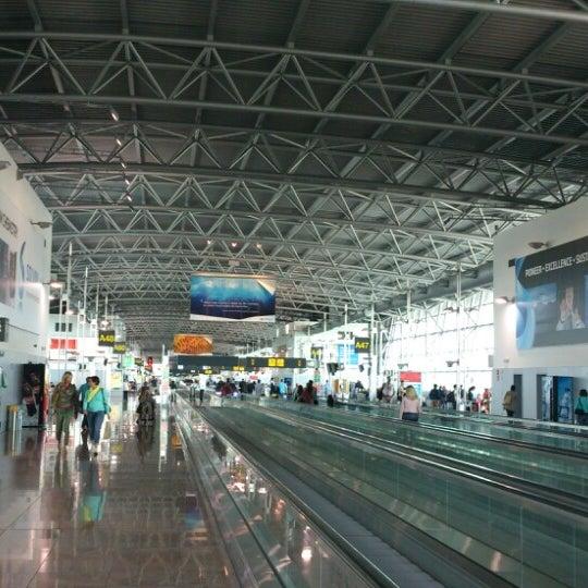 Снимок сделан в Брюссельский аэропорт (BRU) пользователем Yasuaki I. 9/2/2013