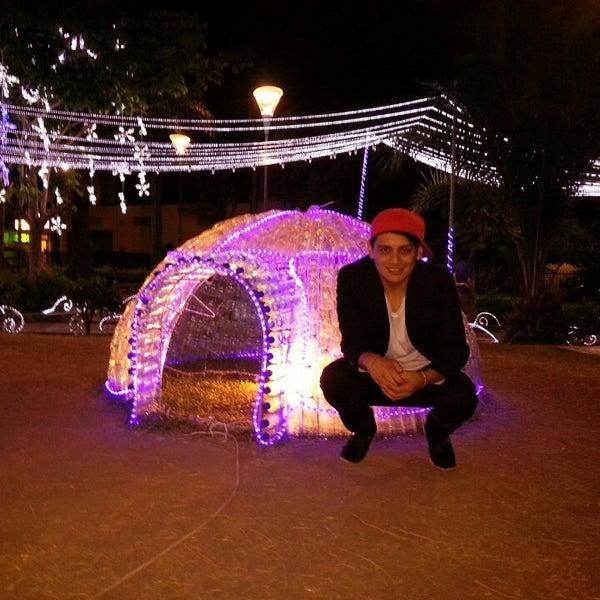 Photo taken at Parque Las Palmas by Edrian M. on 12/19/2013