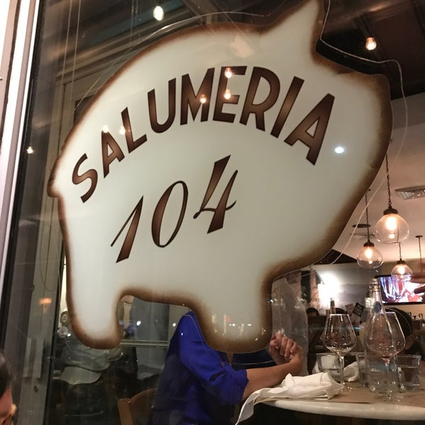 Photo taken at Salumeria 104 by Paulo F. on 10/28/2017