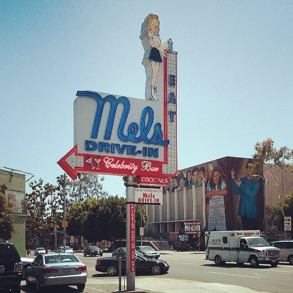 Photo taken at Mel's Drive-In by A. D. on 5/27/2013
