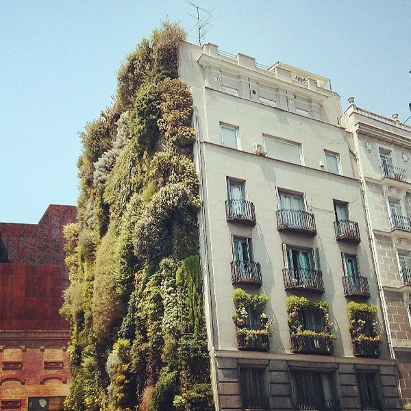 Jard n vertical garden in madrid for Jardin vertical madrid