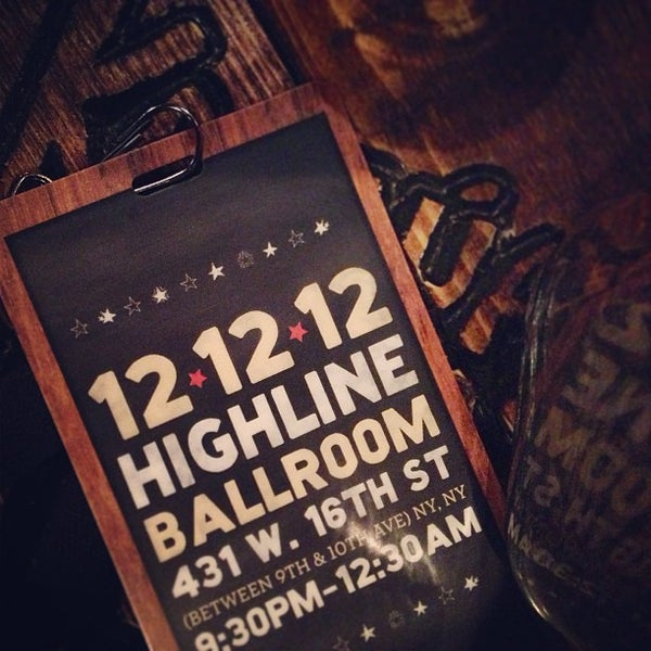 Photo taken at Highline Ballroom by Kacy J. on 12/13/2012
