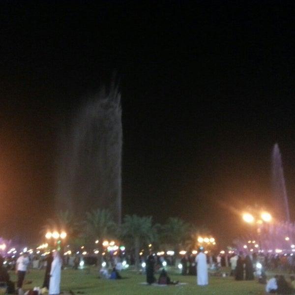 Photo taken at King Abdullah Park by #Sara Mohammed on 10/5/2013