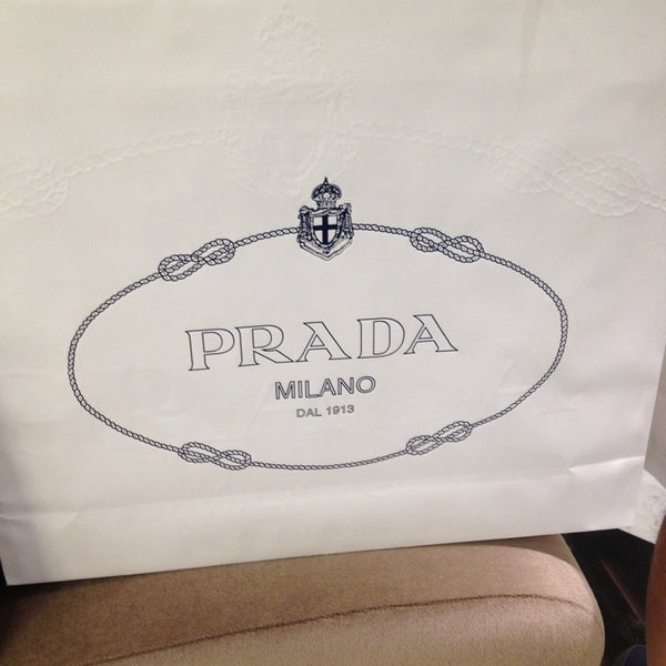 Photo taken at Prada by jeaby R. on 11/3/2013
