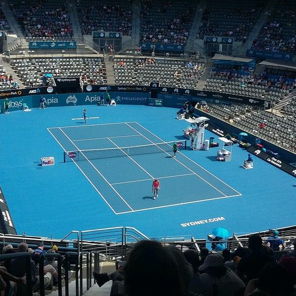 Photo Taken At Sydney Olympic Park Tennis Centre By Nicholas K On 1 9
