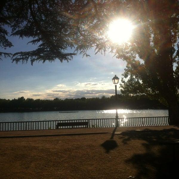 Photo taken at Lago de la Casa de Campo by Sergio M. on 7/4/2013