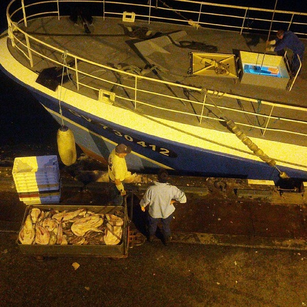 Photo taken at Port du Guilvinec by Yves D. on 8/29/2013