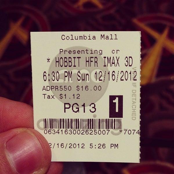 Photo taken at AMC Columbia 14 by Scott T. on 12/16/2012