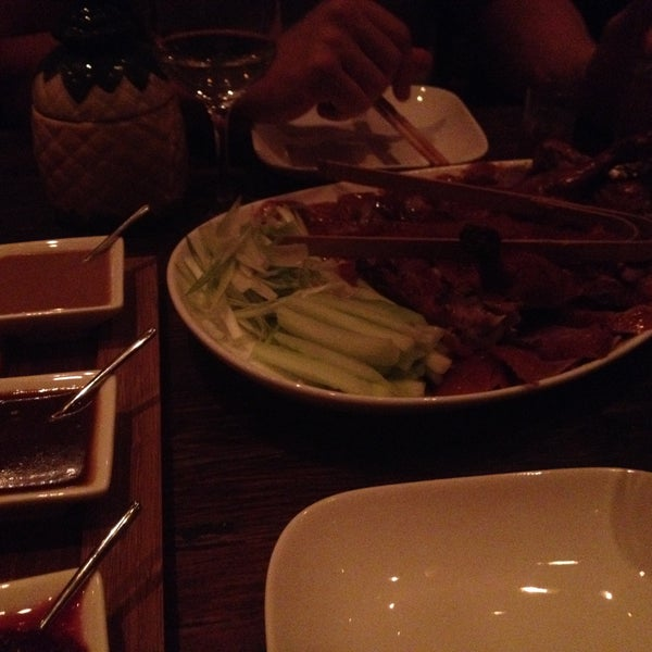 Excellent Peking Duck and cool vibe! Oxtail dumplings were delicious too.