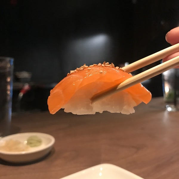 "Try sharing the large ""trust me"" menu and then order more of what you loved a la carte. The sushi practically melts in your mouth. Delicious."