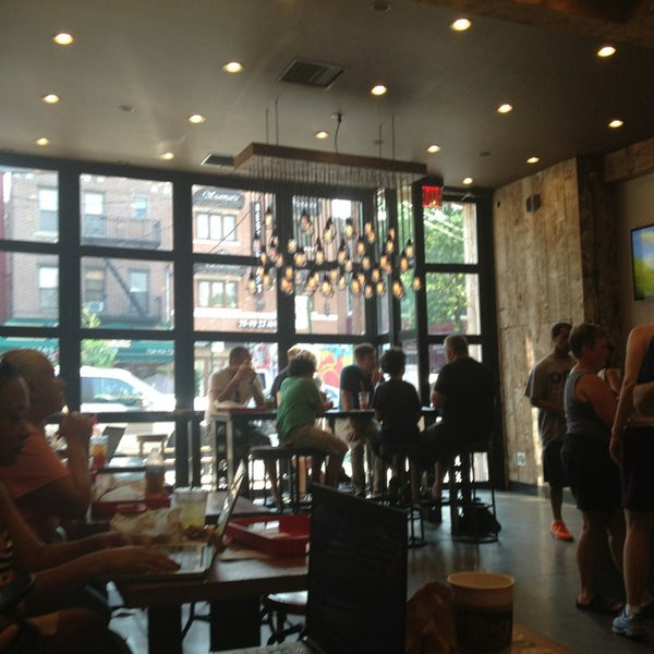 Photo taken at New York City Bagel & Coffee House by Steve A. on 7/19/2013