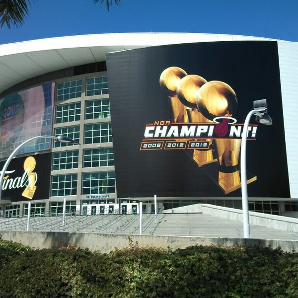 Photo taken at American Airlines Arena by David G. on 7/11/2013
