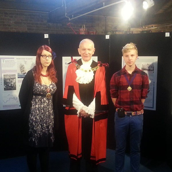 Photo taken at London Canal Museum by London Canal Museum on 9/1/2013