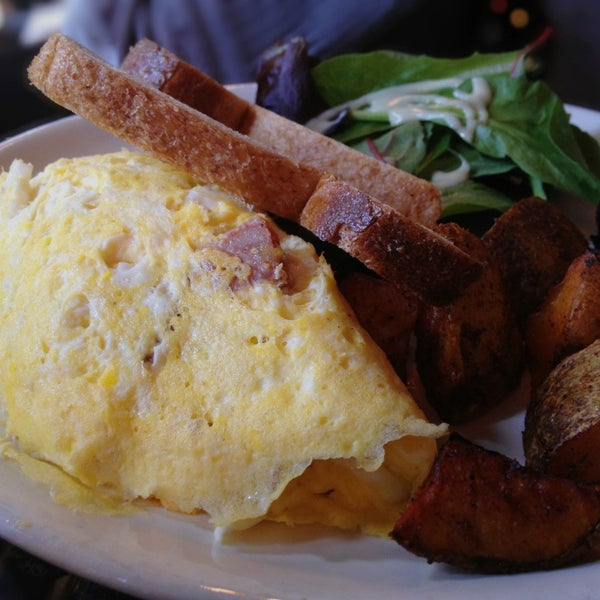 Get the chorizo omelette for brunch. It is so good.