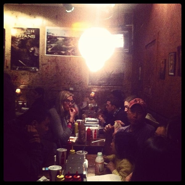 Photo taken at Burger Joint by Michele P. on 12/29/2012