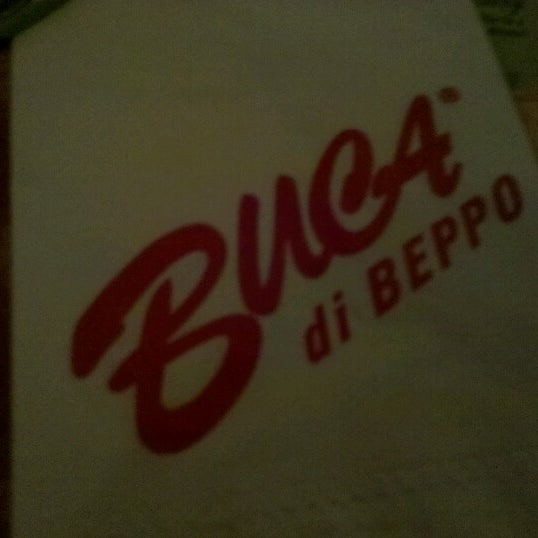 Photo taken at Buca di Beppo by Napua H. on 10/4/2012