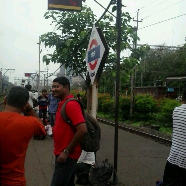 Photo taken at Dadar Railway Station by Avijit C. on 7/4/2013