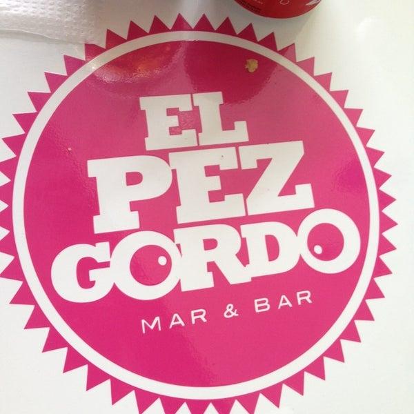 Foto tomada en El Pez Gordo por Del Carmen C. el 10/16/2014