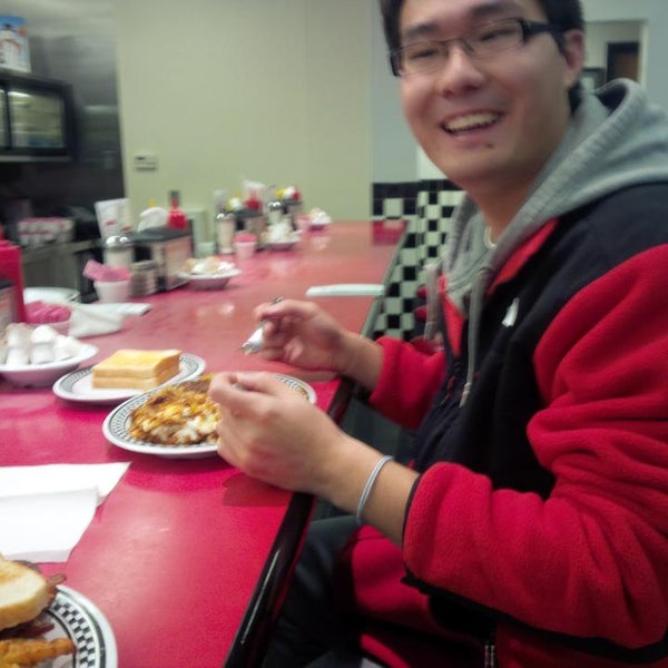 Photo taken at Courtesy Diner by Mark S. on 11/28/2013