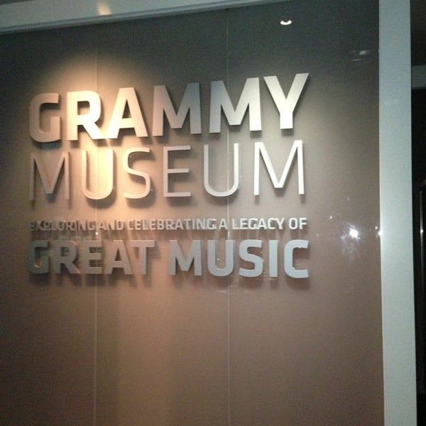 Photo taken at The GRAMMY Museum by April S. on 7/22/2013