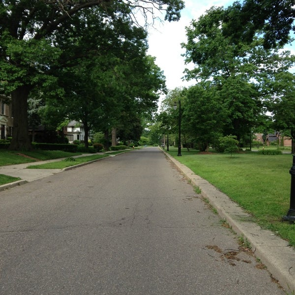 Photo taken at Boston-Edison Historic District by Gregory M. on 6/9/2013